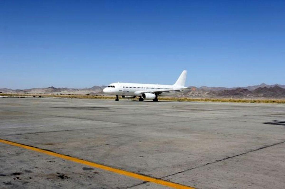 فرود هواپیمای چابهار - مشهد در فرودگاه زاهدان