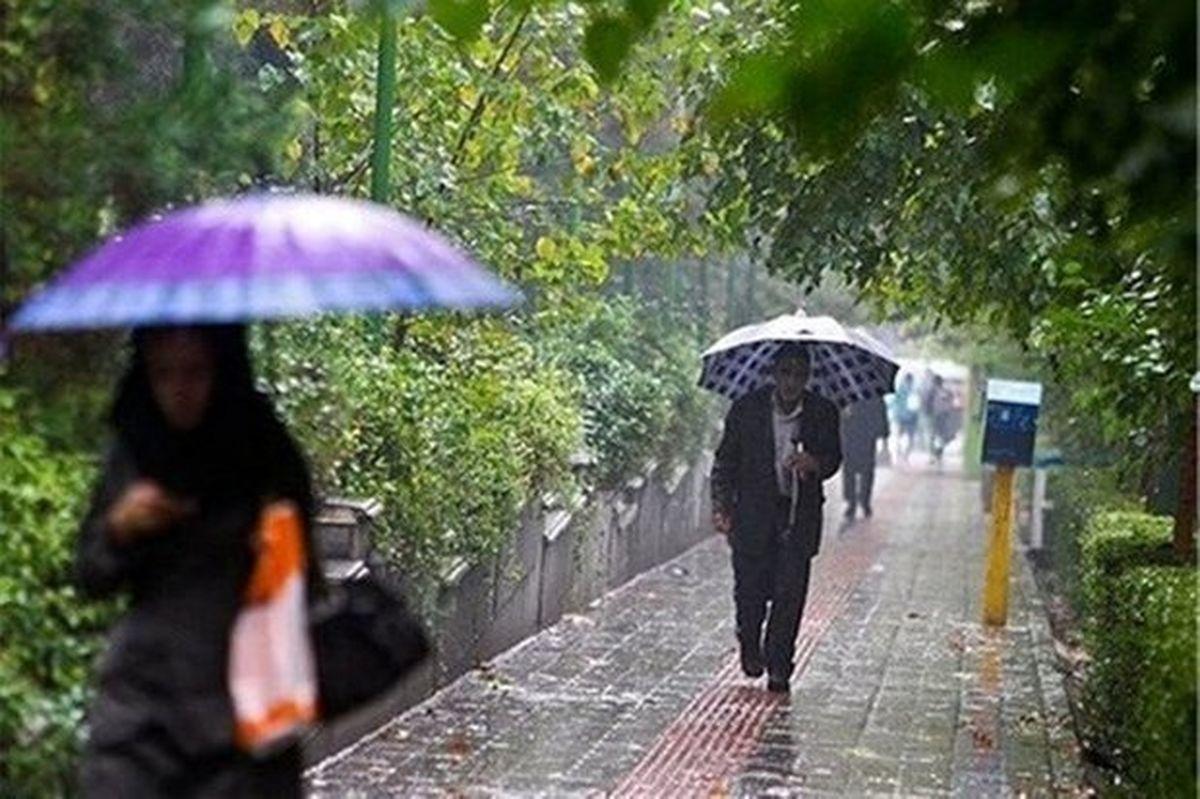 گزارش هواشناسی از ورود موج بارشی یکشنبه به کشور