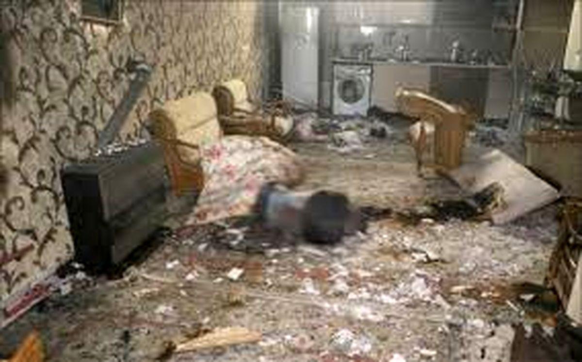 کشف جسد در سالن پذیرایی منزل