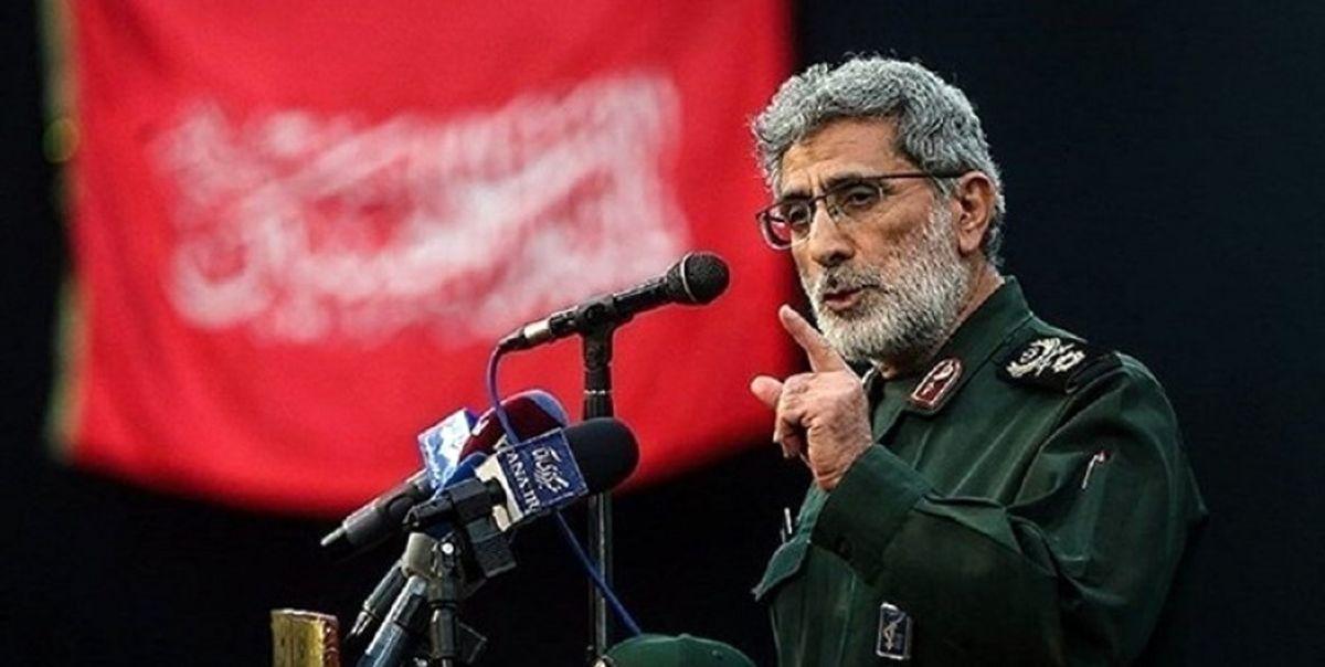 تصویر دیده نشده از سردار قاآنی،  در کنار رهبر معظم انقلاب + عکس