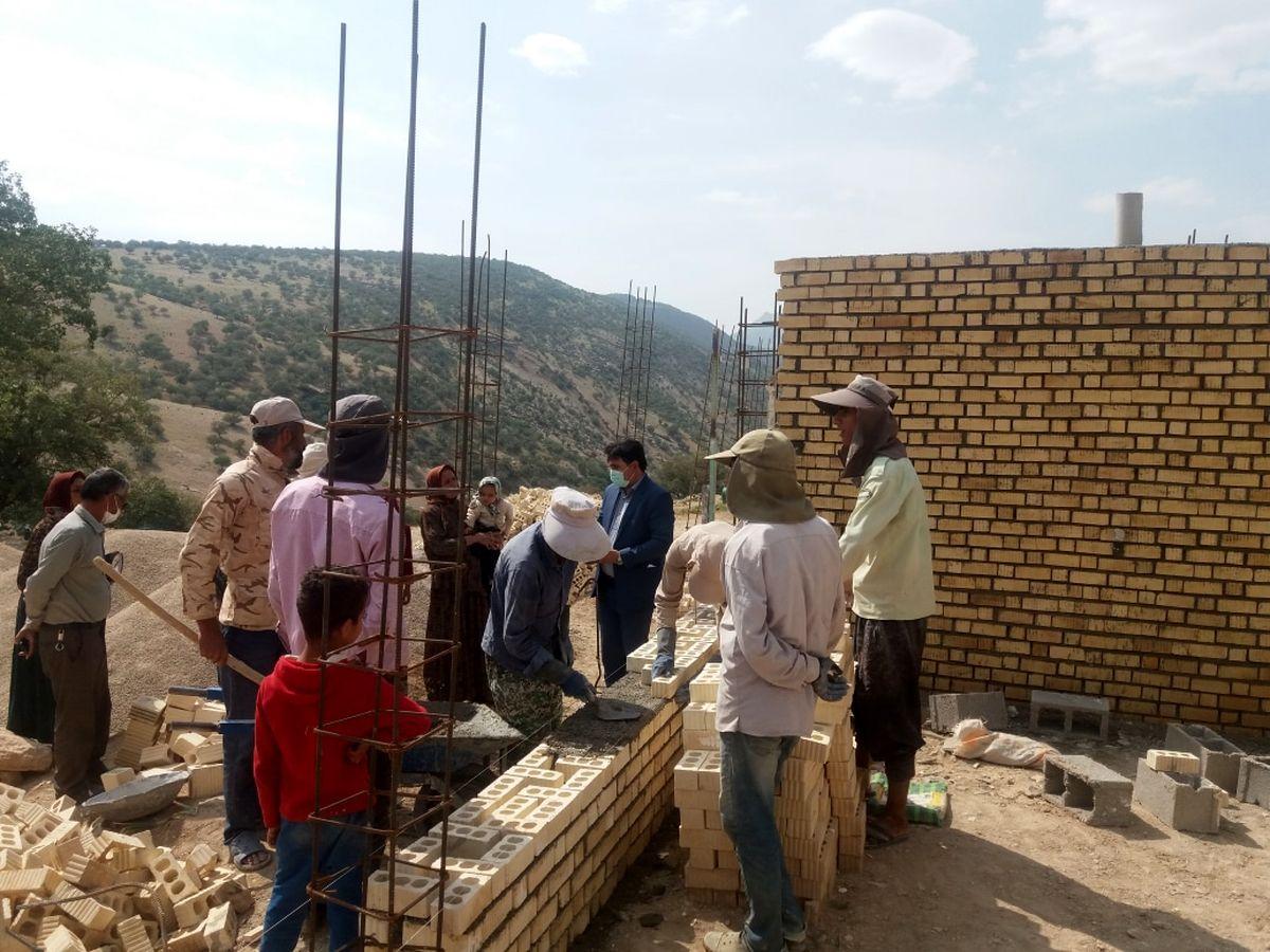 روند پیشرفت ساخت و ساز در شهر زلزه زده سی سخت