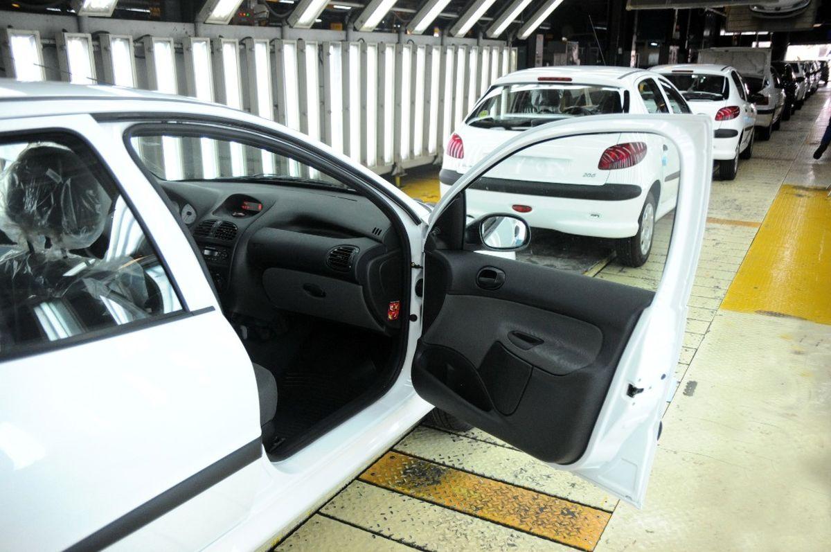 ایمنی پژو ۲۰۶ در برابر سرقت افزایش یافت