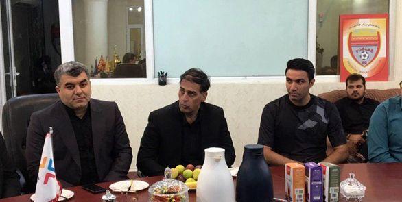 واکنش سعید آذری به حضور در فولاد خوزستان