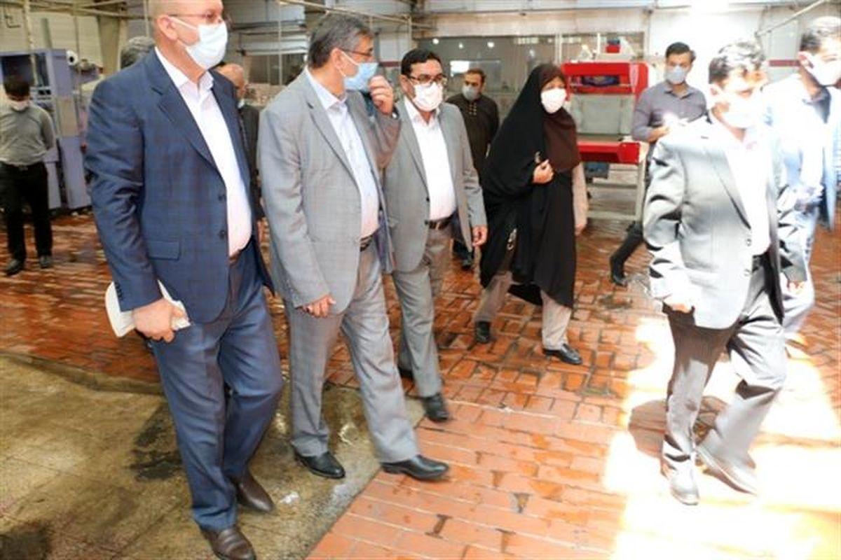مدیرکل تامین اجتماعی همدان از شرکت خوش نوش در استان بازدید کرد