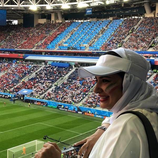 لیندا کیانی در جام جهانی روسیه
