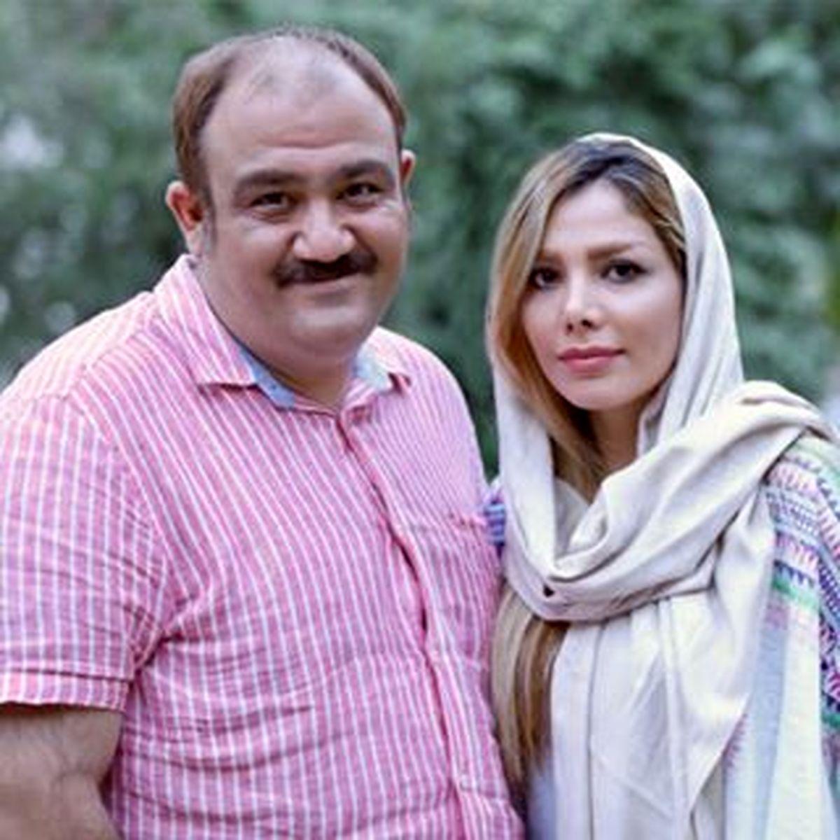عکسهای عاشقانه مهران غفوریان و همسرش در تولد لاکچری هانا+ عکس و بیوگرافی