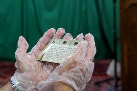اقامه نماز عیدسعید فطر در مسجد موسی بن جعفر (ع)