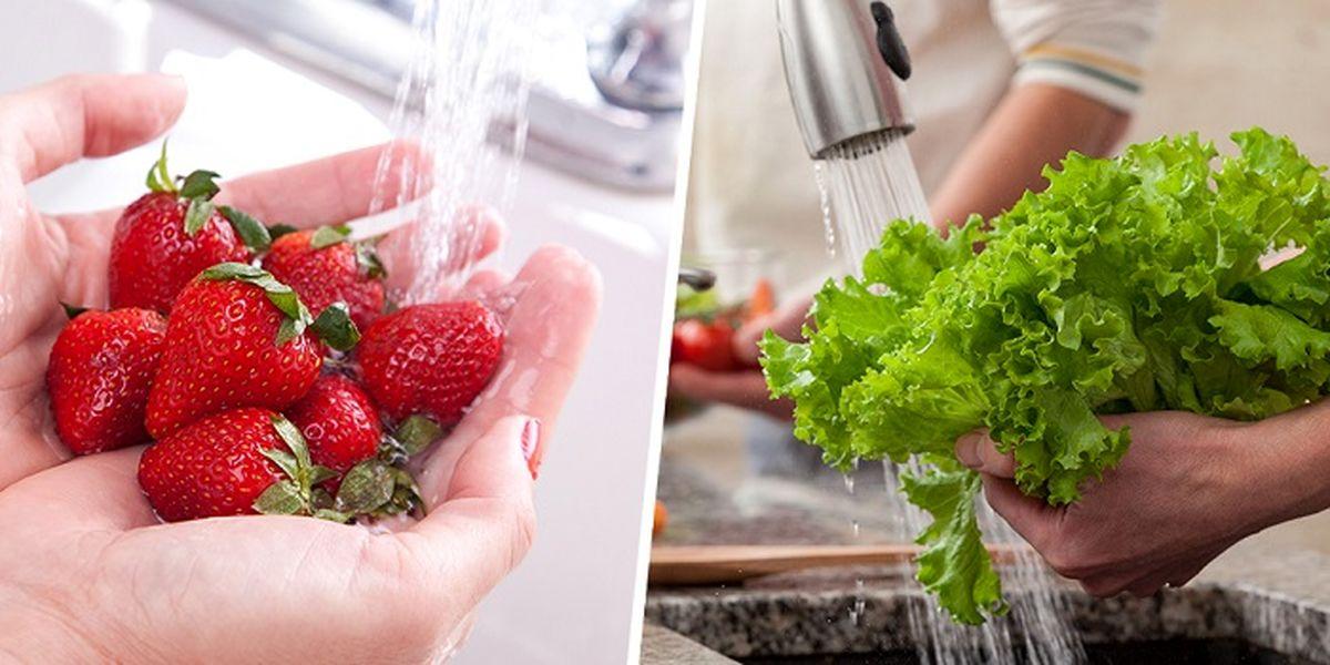 موثرترین راه های ضدعفونی میوه و سبزیجات