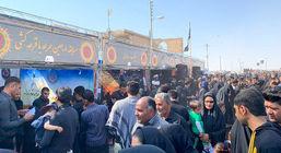 حضور فعال روابطعمومی و امور بین الملل گلگهر در مراسم باشکوه پیادهروی اربعین حسینی