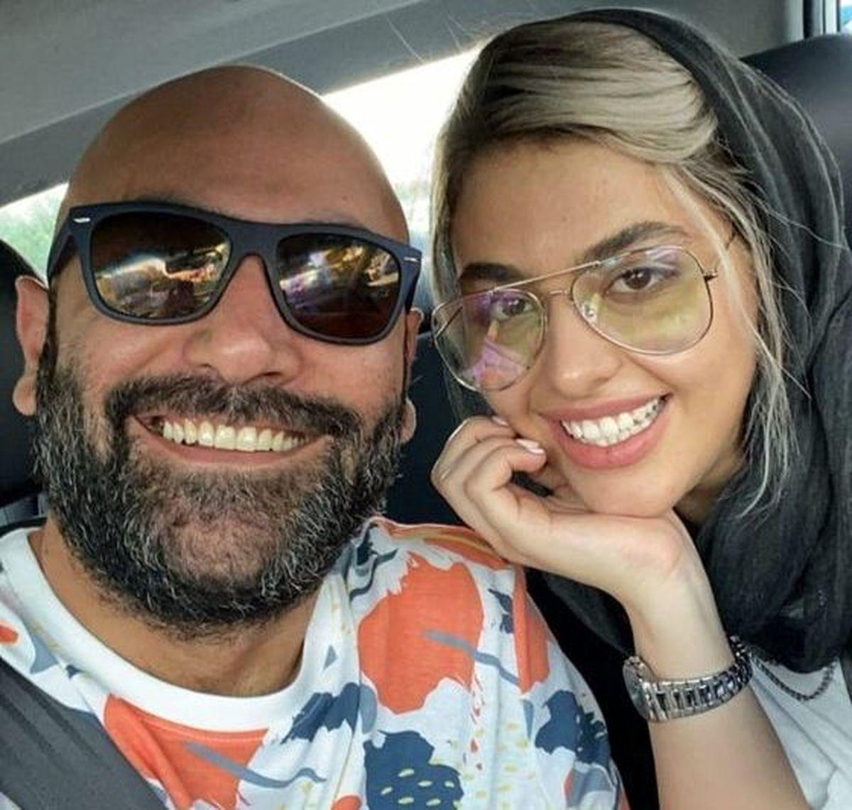 ریحانه پارسا   عاشقانه های دیده نشده با همسرش قبل از طلاق + فیلم