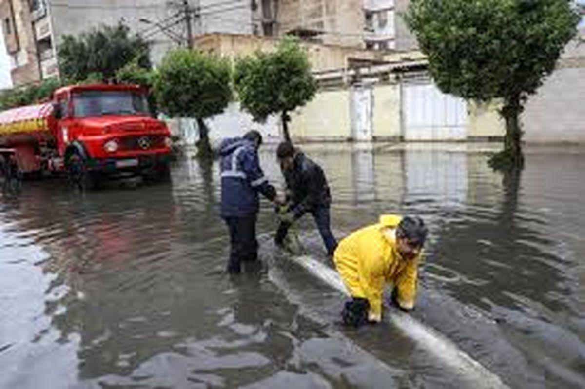 هشدار سطح نارنجی وقوع سیلاب در خوزستان