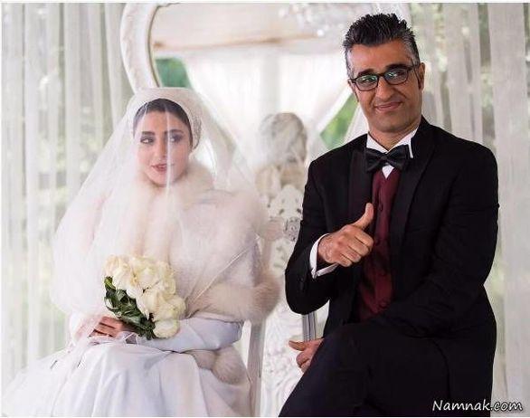 پژمان جمشیدی ازدواج کرد + عکس همسرش