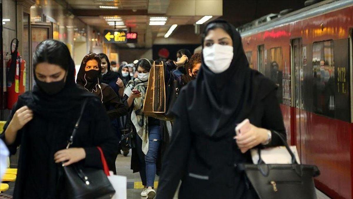 آخرین وضعیت موج آلودگی کرونا در تهران