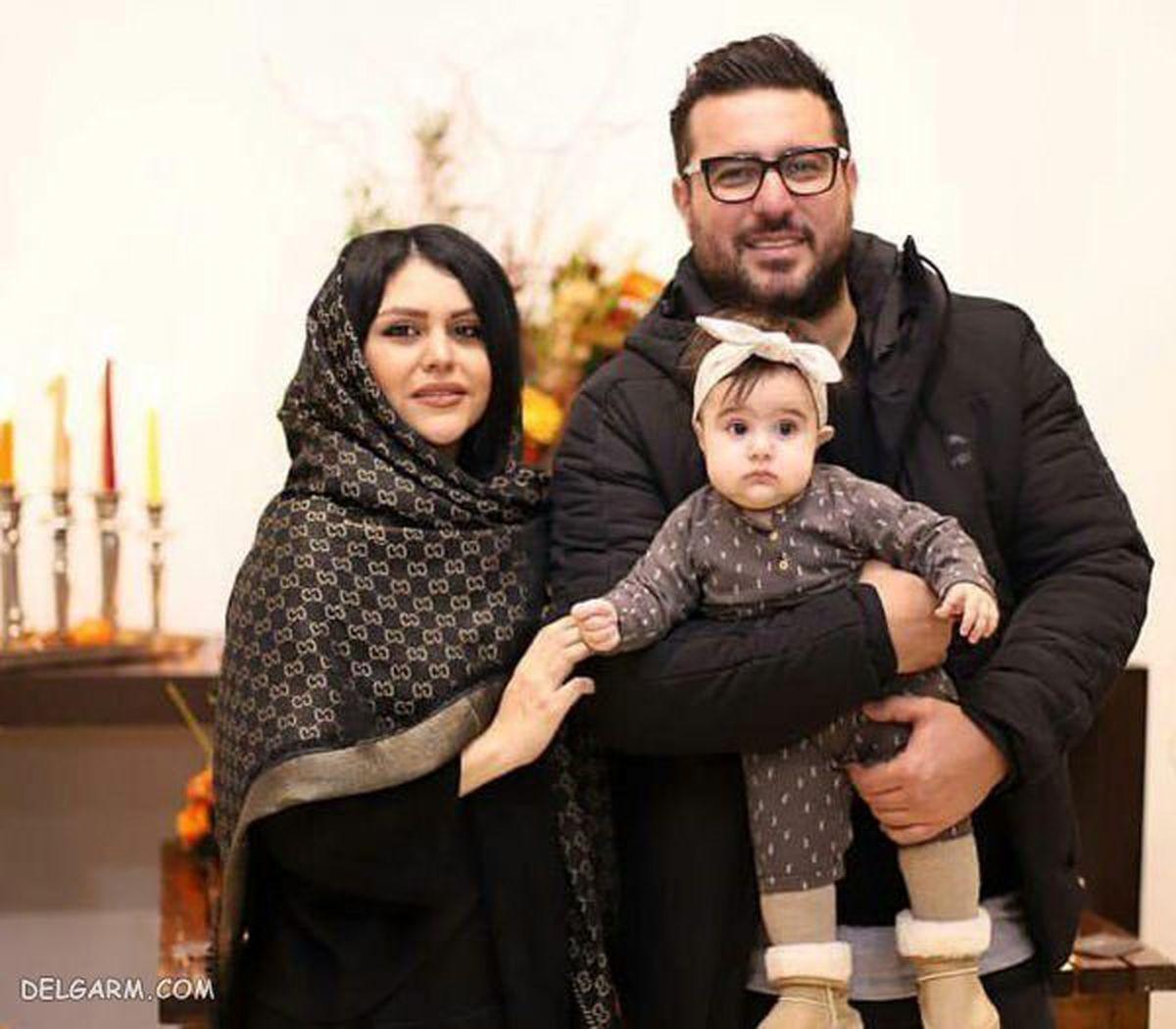 مراسم سالگرد ازدواج محسن کیایی و همسرش + عکس