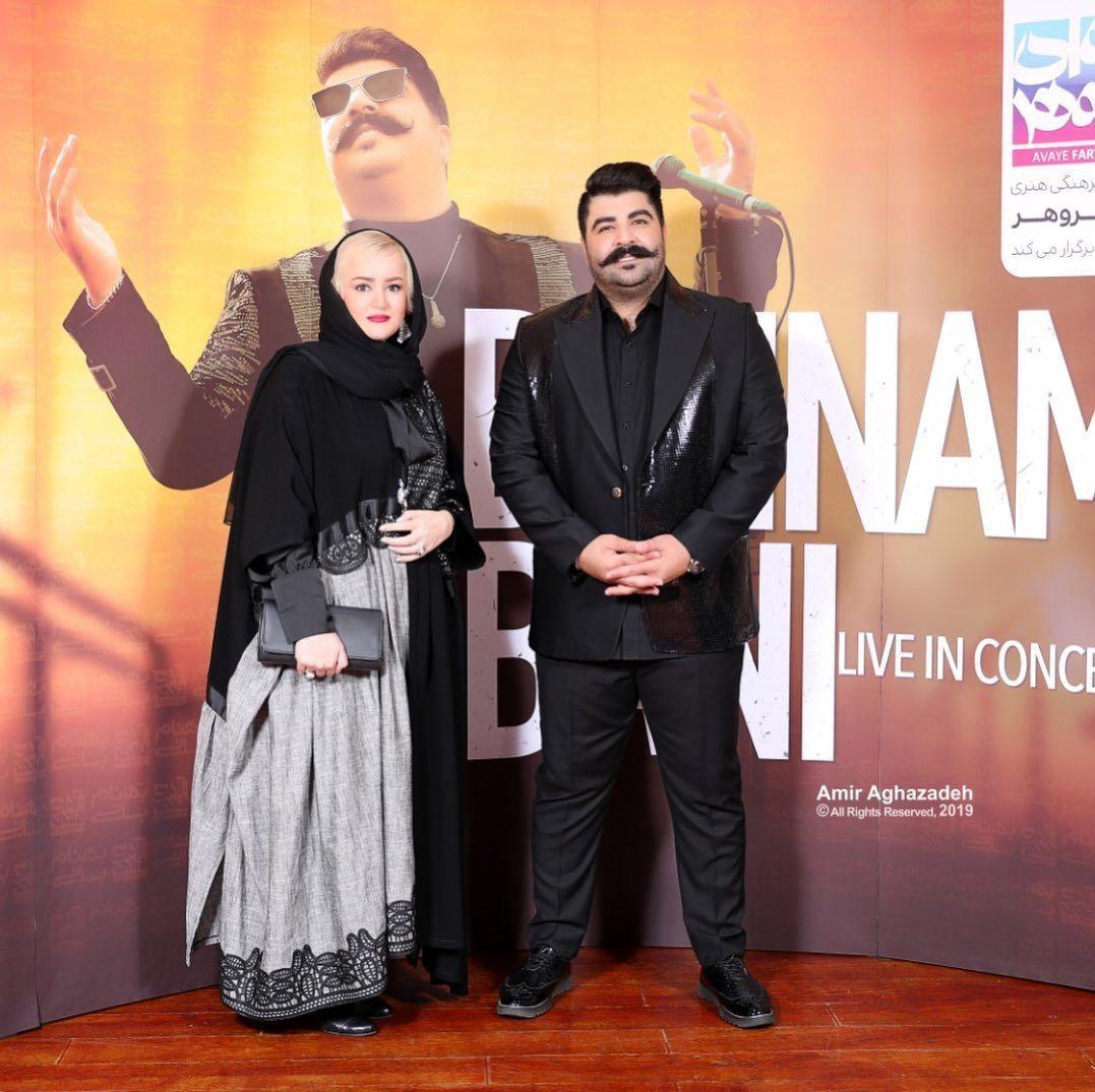 نعیمه نظام دوست در کنسرت بهنام بانی+عکس