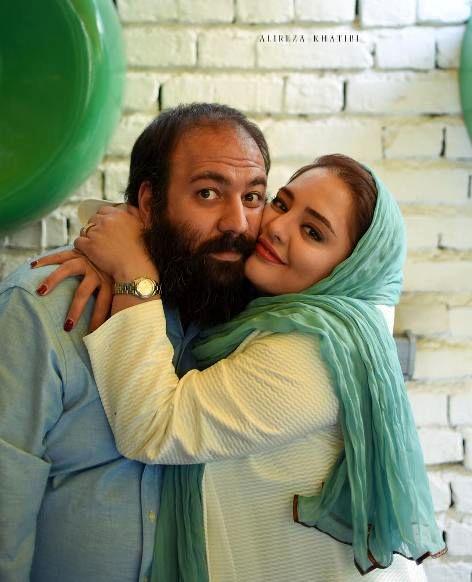 عکس جنجالی و لورفته نرگس محمدی در آغوش علی اوجی+بیوگرافی و تصاویر