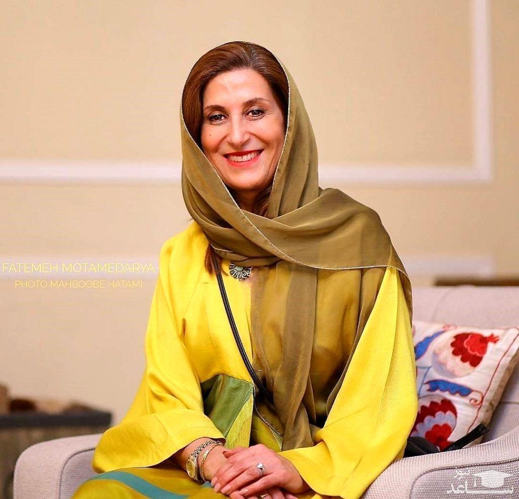 فاطمه معتمد آریا عروس دار شد + عکس