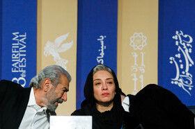 هفتمین روز سی و هشتمین جشنواره فیلم فجر - عوامل فیلم «خروج» در نشست خبری