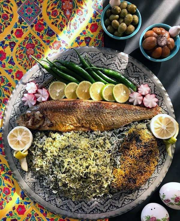 """How to prepare """"vegetable pilaf with fish"""" on the night of the original Iranian Eid"""