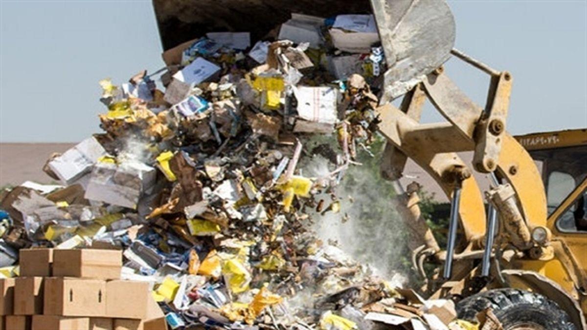 خروج بیش از 9 تن کالای غیربهداشتی از چرخه مصرف