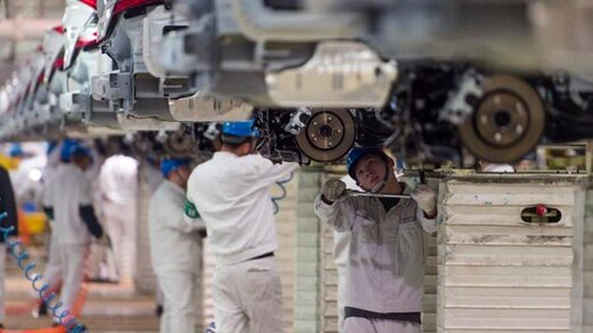 تاثیر کرونا بر صنعت خودروسازی + عکس