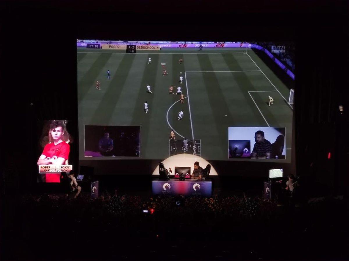 فینال جذاب فیفا بازها در پردیس سینما ملت