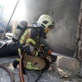 کشته شدن یک نفر در پی انفجار سیلندرهای گاز در کارگاه تولید اسپری