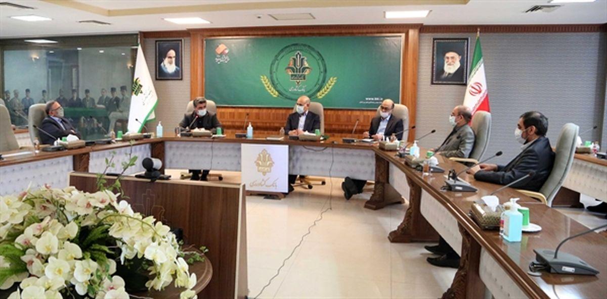 امضا تفاهم نامه تامین مالی سد گرین نهاوند با عاملیت بانک کشاورزی