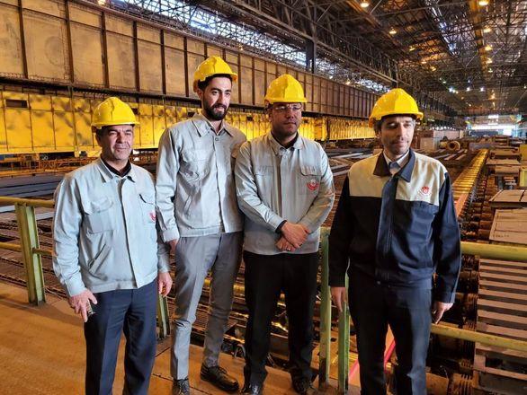 بازدید مدیر روابط عمومی هلدینگ صدر تامین از ذوب آهن اصفهان