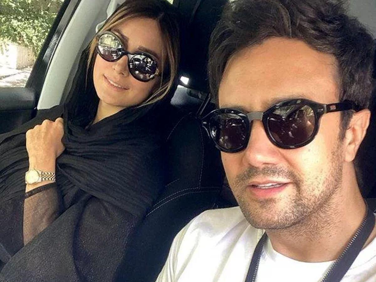 عصبانیت شاهرخ استخری از عاقبت سمیرا در سریال زخم کاری   عکس شاهرخ استخری و همسرش
