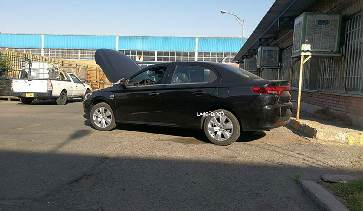 عکس لورفته از خودرو جدید ایران خودرو