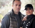 غیرتی شدن ارسطو سریال پایتخت برای همسرش در ملاعام   عکس احمد مهران فر و همسر مدلش