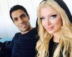 عکس جنجالی فوتبالیست معروف در آغوش همسرش در دریا + بیوگرافی و تصاویر جدید