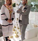 عاشقانه های فریبا نادری و همسرش + عکس جدید