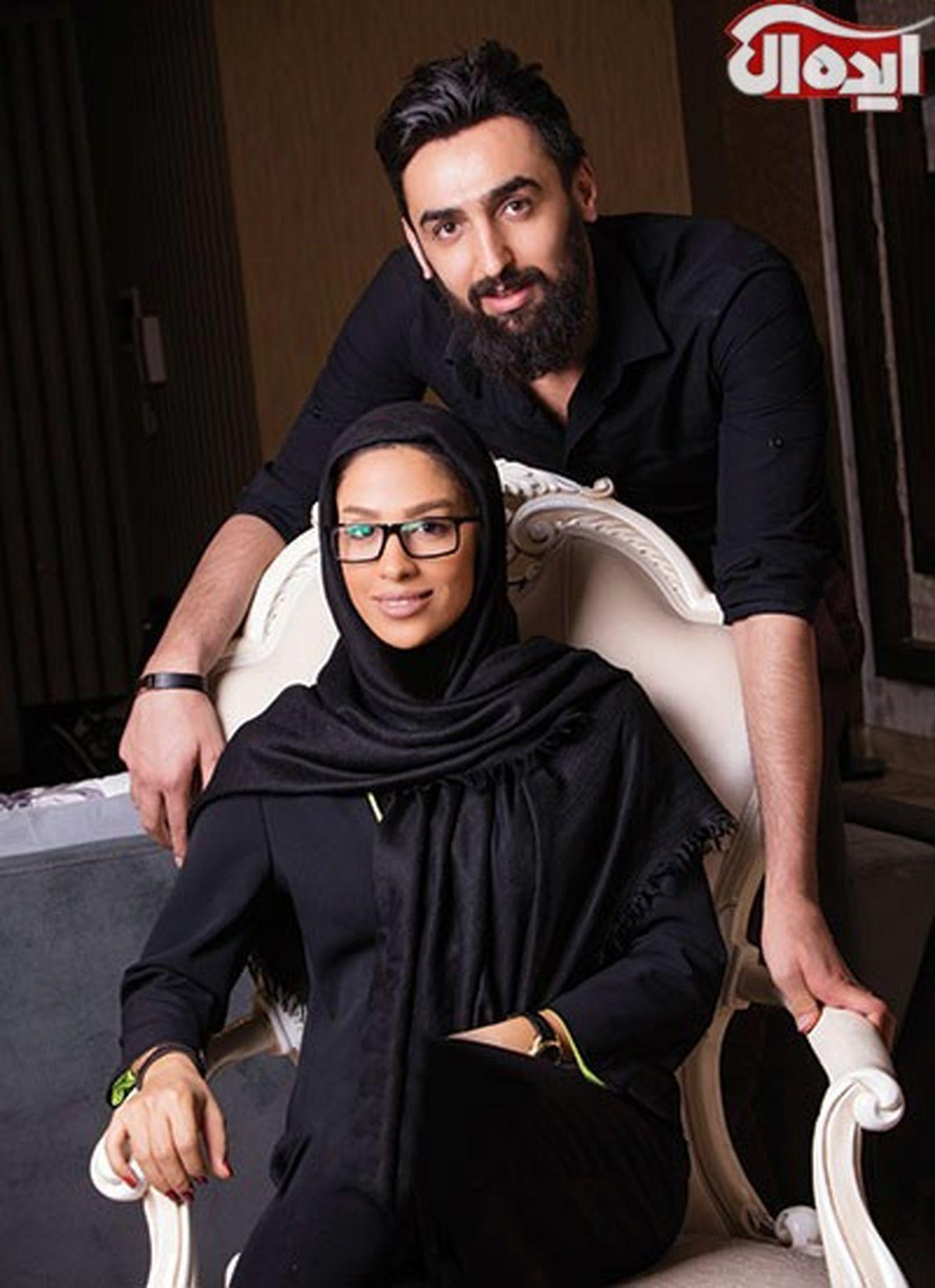 بیوگرافی مهتا محمدی والیبالیست و همسر پوریا فیاضی +تصاویر خانوادگی