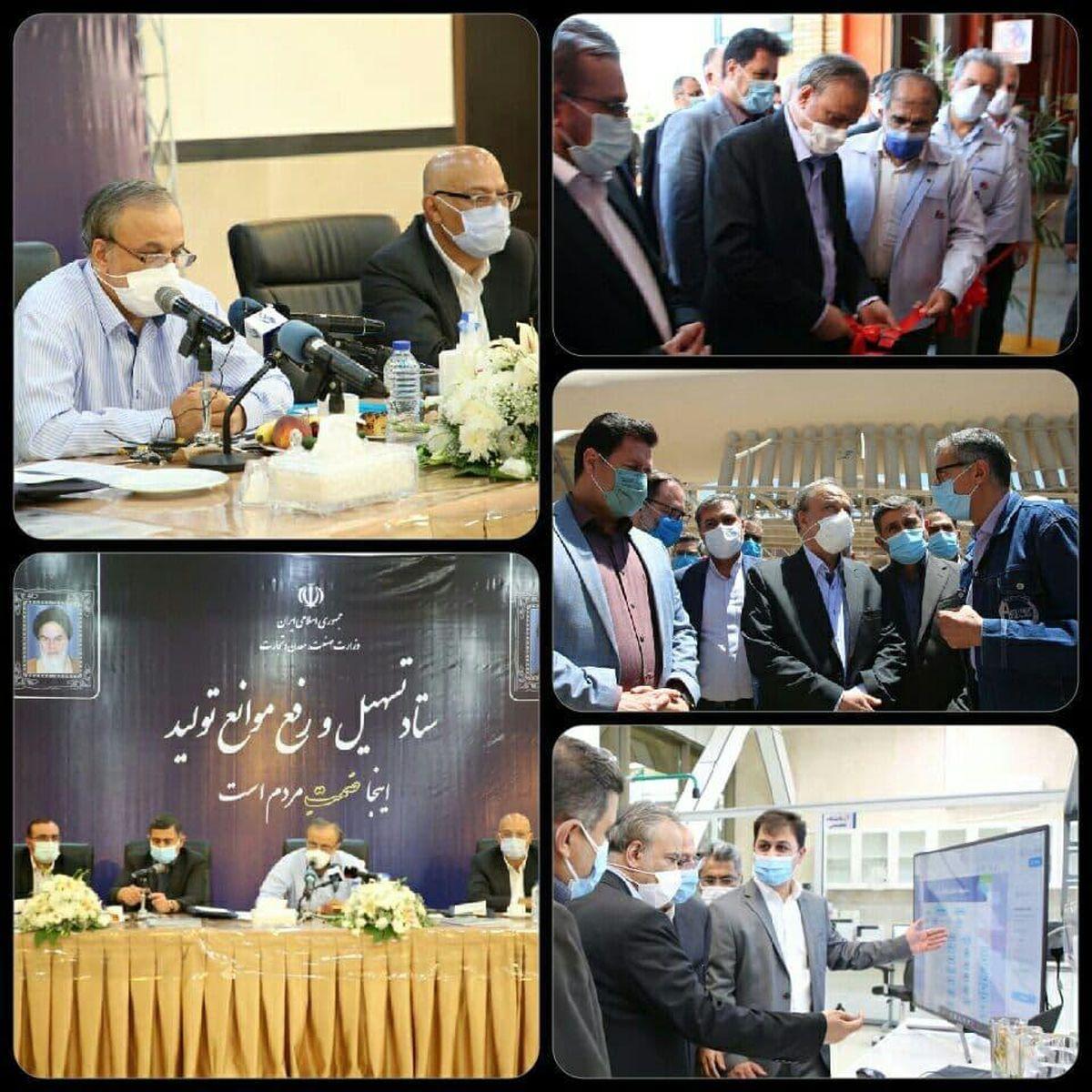 اقدامات وزیر صمت در سفر کاری خود به استان البرز