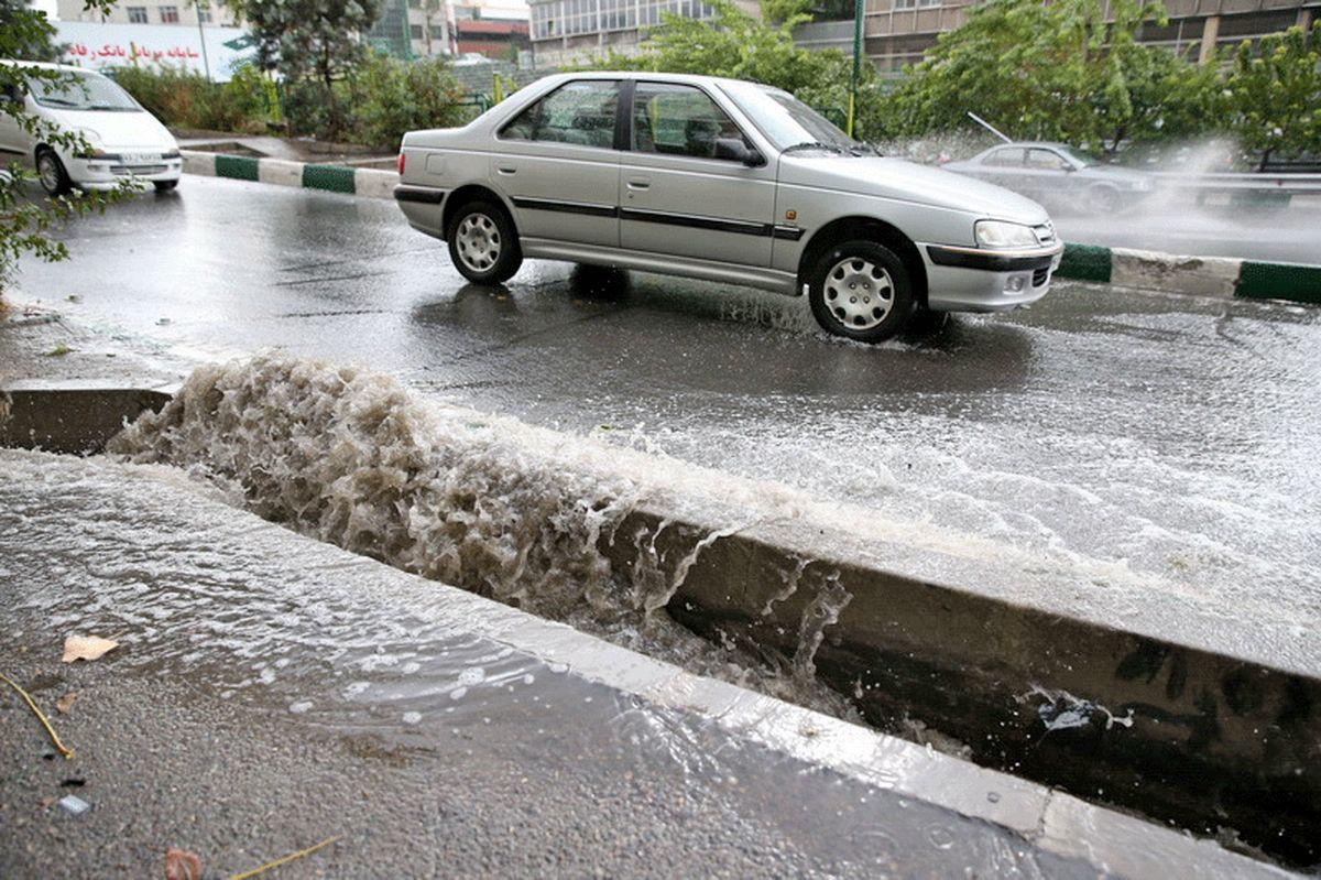 آبگرفتگیها در تهران برطرف شد
