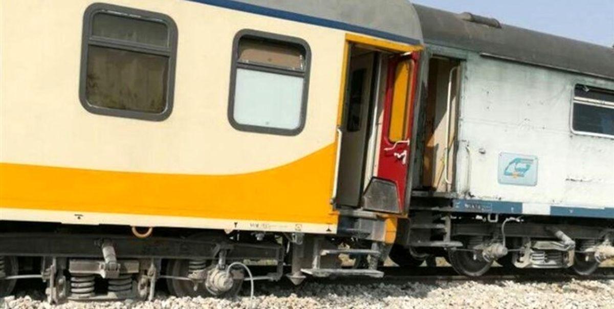 قطار مسافری تهران-تبریز از ریل خارج شد