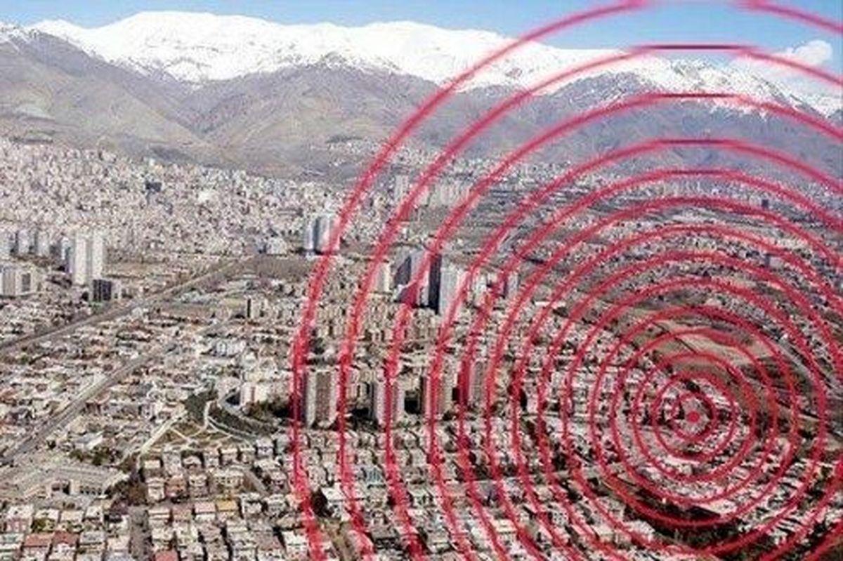 گسل مشاء عامل اصلی زلزله دیشب تهران