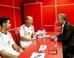 جلسه عرب با کالدرون در تمرین پرسپولیس