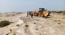 رفع تصرف از اراضی ملی قشم به ارزش بیش از 3 میلیارد ریال در روستای تلمبو