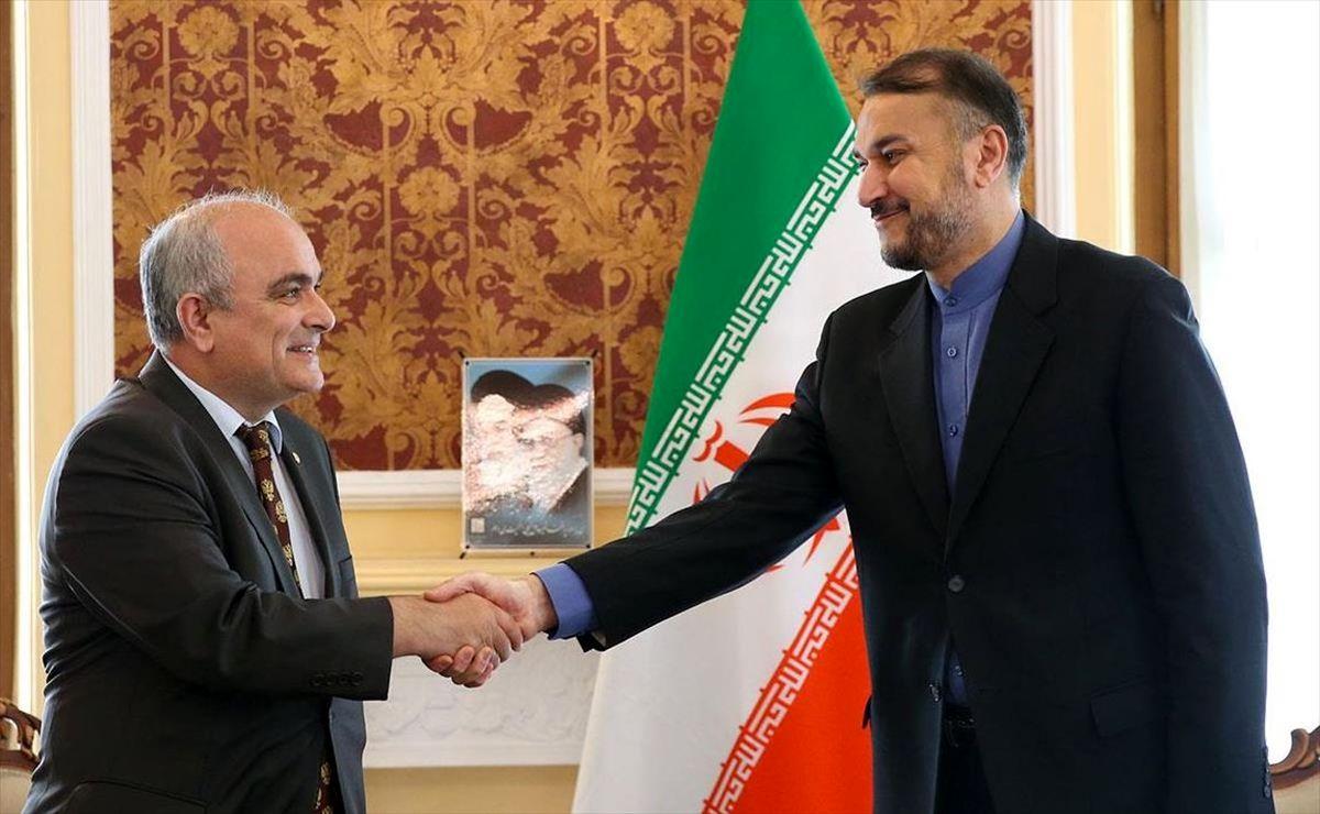 دیدار سفیر روسیه با امیرعبداللهیان درز تهران