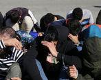 ویدئویی از رفتارهای عجیب ارازل و اوباش در خیابان های تهران + فیلم