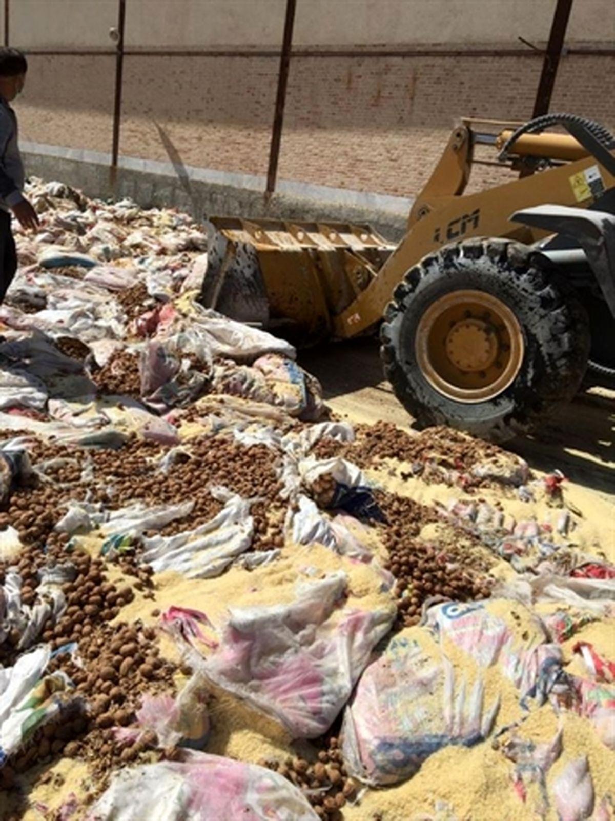 انهدام بیش از 60 تن انواع کالای قاچاق توسط اموال تملیکی استان بوشهر