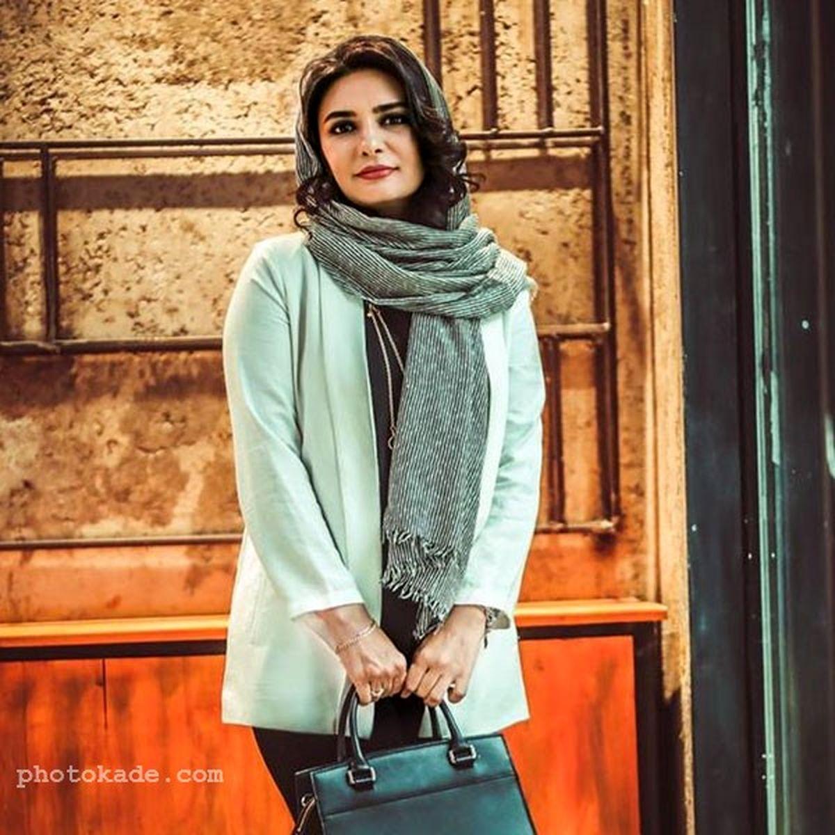 رابطه پنهانی لیندا کیانی با شوهر لیلا حاتمی در سریال میدان سرخ | عکسهای لیندا کیانی
