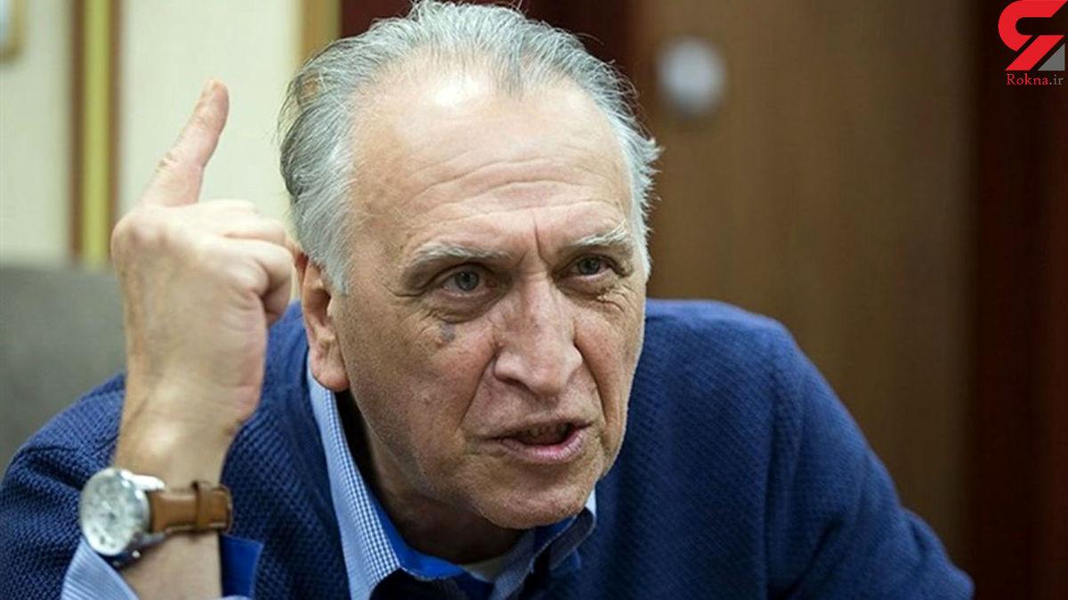 احمد نجفی | واکنش جنجالی اش به دزدی ، اختلاس در پاسخ به پیامک یک مخاطب روی آنتن زنده تلویزیون