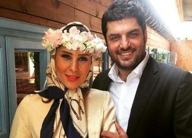 عکس های لو رفته از مراسم ازدواج سام درخشانی و همسرش +تصاویر