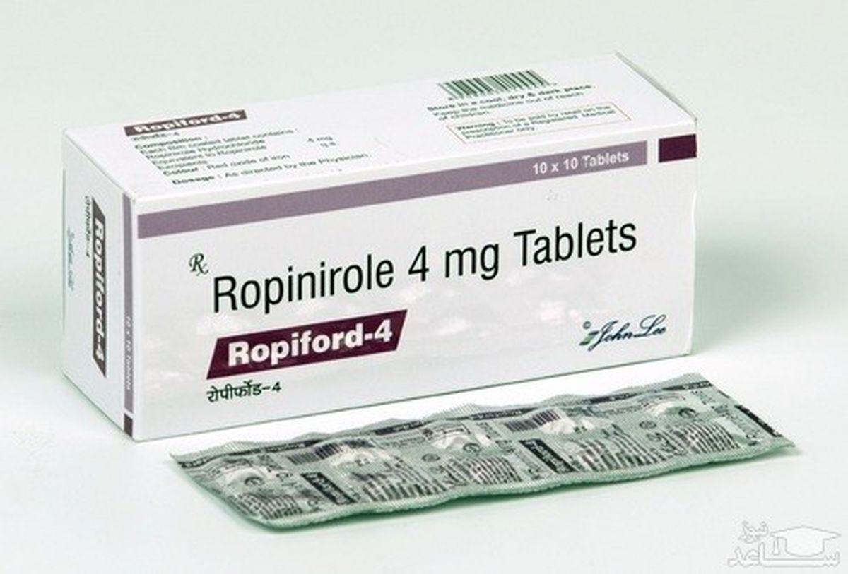 مصرف روپینیرول  و عوارض و فواید تاثیر گذار آن