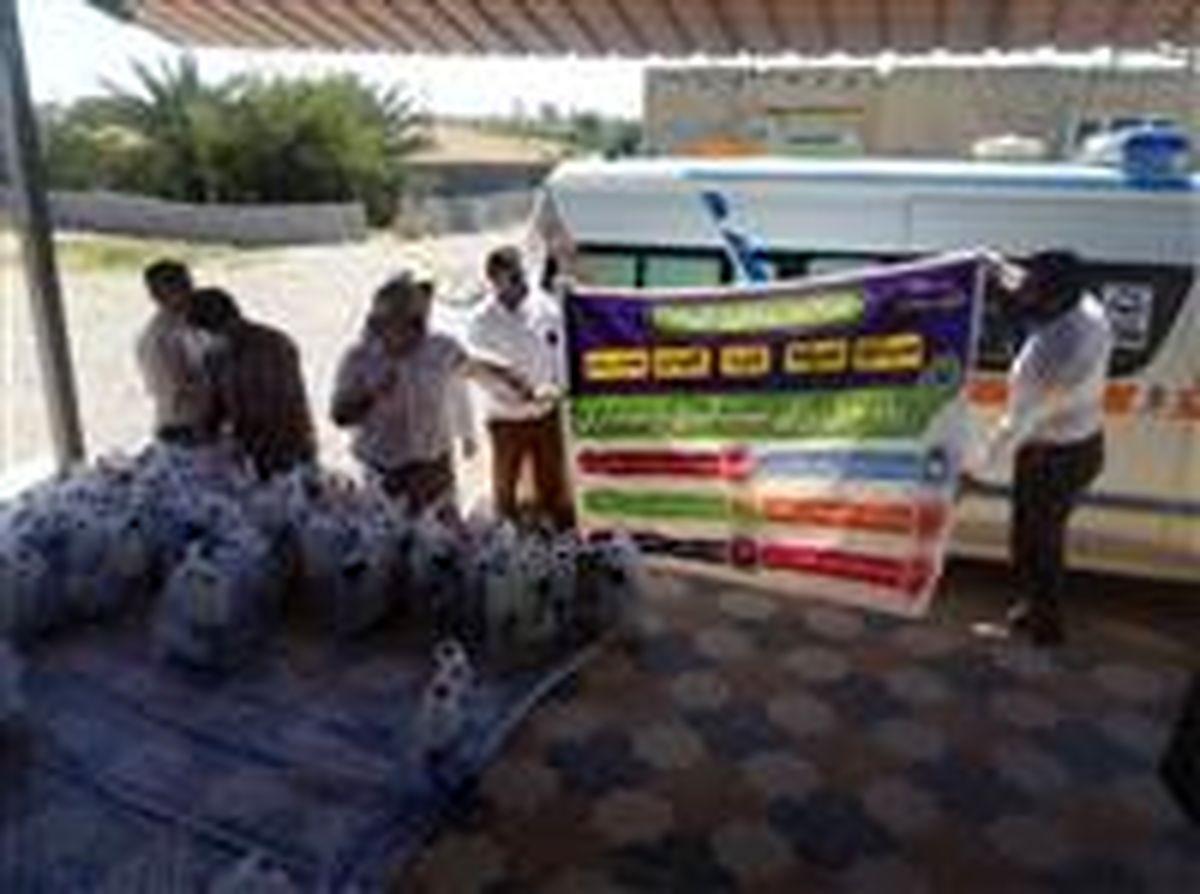 توزیع ۷ هزار بسته بهداشتی و آموزشی میان مردم همجوار خط لوله گوره-جاسک