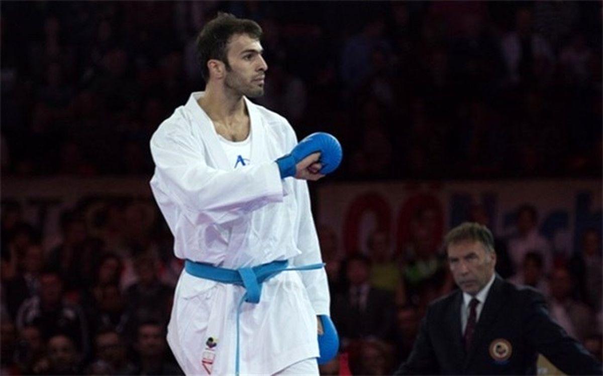 اولین المپیکی کاراته ایران معرفی شد